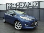 2009 Ford Fiesta WS Zetec Blue 5 Speed Manual Hatchback Old Reynella Morphett Vale Area Preview