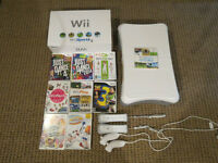 Nintendo Wii System Sports Bundle + More