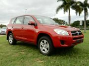 2010 Toyota RAV4 ACA33R MY09 CV Red 5 Speed Manual Wagon Townsville Townsville City Preview