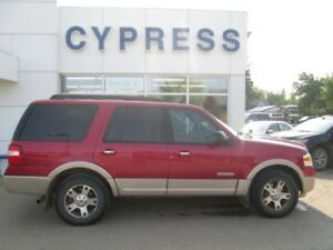 2007 Ford Expedition Eddie Bauer- Leather, Sunroof