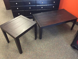 ASSORTED COFFEE AND END TABLES