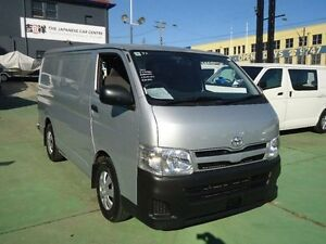 2012 Toyota Hiace KDH201R MY12 Upgrade LWB Silver 4 Speed Automatic Van Canada Bay Canada Bay Area Preview