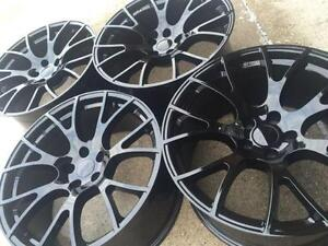 """$1050 (TAX-IN) - NEW 20"""" Dodge HELLCAT Black / Gunmetal reps – Charger/ Challenger/ Magnum/ Chrysler 300"""