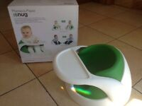 Baby snug 2 in 1 seat that helps babies sit up
