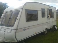 SPARES or REPAIR, 5 berth Bailey caravan