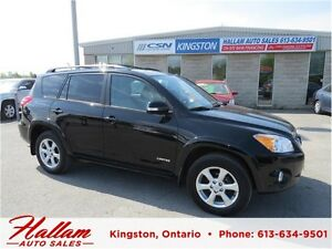 2011 Toyota RAV4 Ltd,  Sunroof, Bluetooth, Hitch
