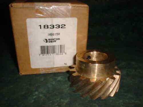 NEW Boston Gear Brass Helical Gear # HB615R (12660-C2)