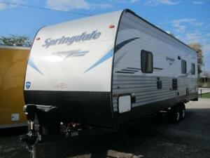 2019 SPRINGDALE TAILGATOR SG274TH-NEW TOYHAULER MODEL$28999