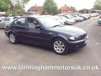 2003 (03 Reg) BMW 318i SE 4DR Saloon BLUE + LOW MILES