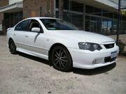 2005 Ford Falcon BA MkII XR6 White 4 Speed Auto Seq Sportshift Sedan Wangara Wanneroo Area Preview