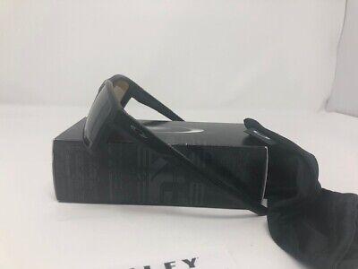 New Oakley Mainlink Matte Black Prizm Tungsten Polarized Sunglasses (Mainlink Polarized)