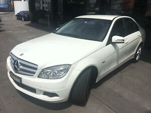 2011 Mercedes-Benz C200 W204 BlueEFFICIENCY Calcite White Sports Automatic Sedan Concord Canada Bay Area Preview