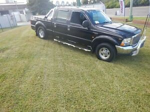 2005 Ford F250 RN XLT Black 4 Speed Automatic Crew Cab P/Up Smithfield Parramatta Area Preview