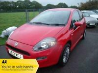 FIAT PUNTO GBT - TWO OWNERS - Red Manual Petrol, 2012