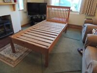 Handmade 3' Oak Single Bed