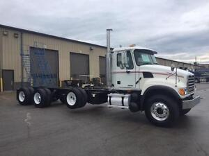 2005 Mack CV713 GRANITE TRIAXLE  Cab and Chassis