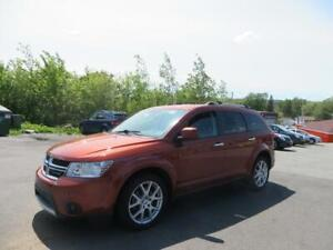 2013 Dodge Journey R/T AWD 7 PASSENGER , LEATHER , LOADED