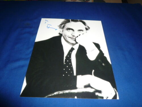 TERENCE STAMP signed autograph In Person 8x10 STAR WARS