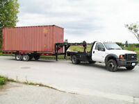 MOVING CONTAINERS WITH TRUCK FOR RENT