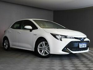 2018 Toyota Corolla ZWE211R Ascent Sport E-CVT Hybrid White 10 Speed Constant Variable Hatchback Maddington Gosnells Area Preview