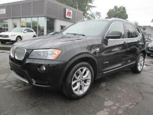 2014 BMW X3 xDrive28i CUIR CAMERA TOIT PANORAMIQUE