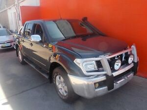 2008 Nissan Navara D40 ST-X Grey 6 Speed Manual Utility Broadview Port Adelaide Area Preview