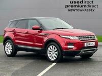 2014 Land Rover Range Rover Evoque 2.2 Sd4 Pure 5Dr [Tech Pack] Hatchback Diesel