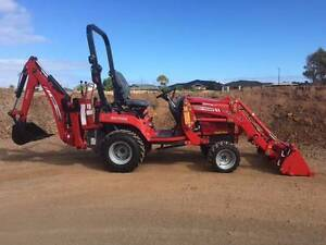 NEW MASSEY FERGUSON TRACTOR WITH BACKHOE & 4 in 1 Bucket.  1 ONLY Aldinga Morphett Vale Area Preview