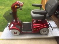 Any Terrain and Any Weather Mobility Scooter With Winter Canopy - Great Batteries- Portable - £295