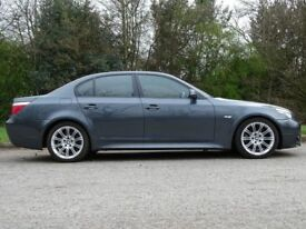 BMW 5 SERIES 2.0 520D M SPORT 4d 161 BHP (grey) 2007