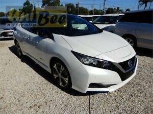 2018 Nissan Leaf ZE1 G Pearl White Reduction Gear Hatchback Moorabbin Kingston Area Preview