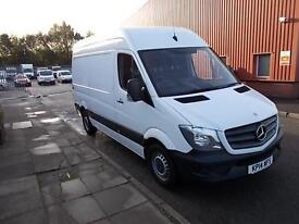 Mercedes-Benz Sprinter 313 CDI MWB 3.5T HIGH ROOF VAN DIESEL MANUAL WHITE (2014)