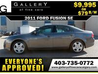 2011 Ford Fusion SE $79 bi-weekly APPLY TODAY DRIVE TODAY