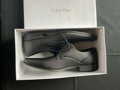 Men's Calvin Klein Benton Dress Shoes - Black - Size 13