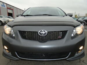 2009 Toyota Corolla S SPORT PKG-SUNROOF--5 SPEED--ONLY 96,000KM