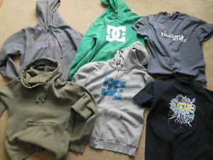 Hurley, DC Shoes, Vans, Hoodies,T-Shirts, Hats