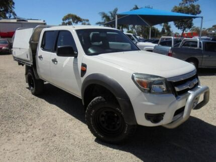 2011 Ford Ranger White Automatic Cab Chassis