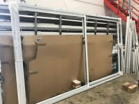 Large White Aluminium 2-part Patio Sliding Doors - Norwich