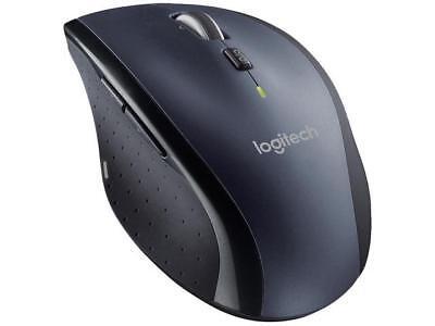 Logitech M705 Black 1 X Wheel Usb Rf Wireless Laser Marathon Mouse
