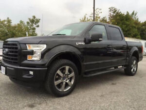 2015 Ford F-150 SuperCrew V8 LEASE TAKEOVER LOTS OF KM