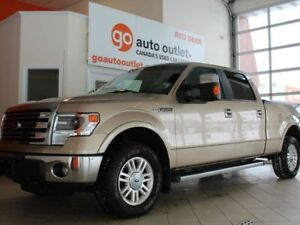 2014 Ford F-150 Lariat SuperCrew 6.5-ft. Bed 4WD, cruise control