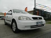 2001 Holden Astra TS City White 4 Speed Automatic Sedan Williamstown North Hobsons Bay Area Preview