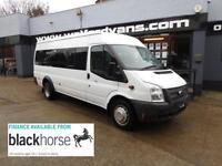 2012 Ford Transit T 430 2.2TDCi 17 Seats E/Windows Diesel white Manual