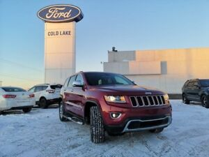 2015 Jeep Grand Cherokee LIMITED 4x4, TRAILER TOW, UCONNECT 8.4,