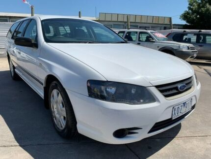 2009 Ford Falcon BF Mk III XT White 4 Speed Sports Automatic Wagon Maidstone Maribyrnong Area Preview