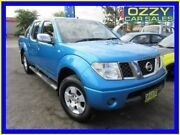 2006 Nissan Navara D40 ST-X (4x4) Blue 5 Speed Automatic Dual Cab Pick-up Minto Campbelltown Area Preview