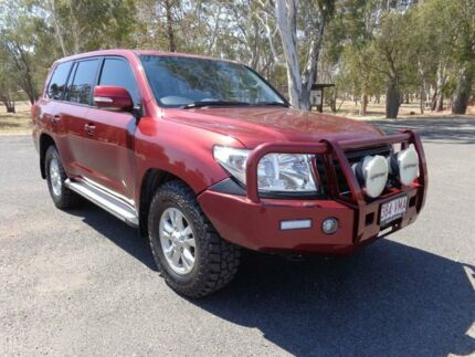 2015 Toyota Landcruiser VDJ200R MY13 GXL (4x4) Merlot Red 6 Speed Automatic Wagon Roma Roma Area Preview