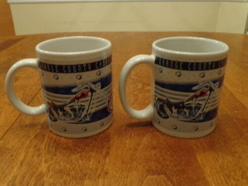ORANGE COUNTY CHOPPERS 2005 MUG LOT OF 2