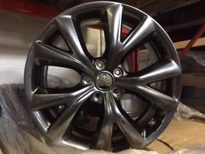 "OEM Hyundai 19""x7.5 take off rims Hyper black"