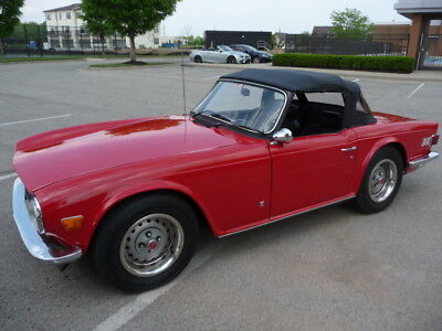 1972 Triumph TR-6 Convertible December 1972 Triumph TR6 only 62k orig miles absolutely no rust